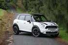 The Countryman is 300mm longer than a Mini hatchback. Photo / Supplied