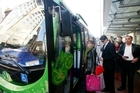 There were a record seven million public transport passenger trips in March. Photo / Herald on Sunday