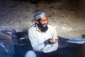 Osama bin Laden's interests aligned with the US when he joined the Afghan war against Soviet troops in the 1980s, building a reputation as a resourceful commander. Photo / AFP