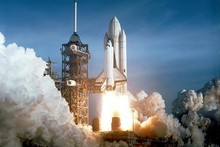 STS-1 carried astronauts John Young and Robert Crippen into an Earth orbital mission. Photo / Supplied