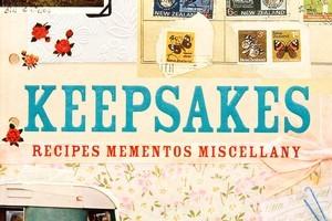 Book cover of Keepsakes by Frances Hansen. Photo / Babiche Martens