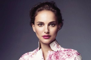 Natalie Portman as the new face of Miss Dior Cherie. Photo / Supplied
