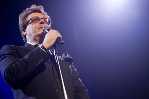 Comedian Greg Proops at the Comedy Festival. Photo / Dean Purcell
