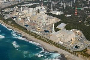 Hamaoka nuclear power. Photo / AP