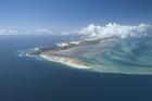 An aerial view of Ilha de Bazaruto, Indigo Bay. Photo / Rani Resorts