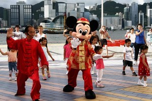 Hong Kong Disneyland has been called Disneyland Lite but children are bound to enjoy it anyway. Photo / Supplied