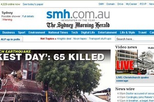 Fairfax, publisher of the Syndey Morning Herald, says the advertising market remains weak.