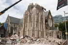 There are question marks over the future of the ChristChurch Cathedral. Photo / Mark Mitchell
