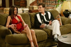 The TV industry shows a lack of restraint screening sleazy adult material such as Two and a Half Men during the early evening. Photo / Supplied