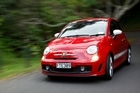 Fiat 500 Esseesse - cute and comically fast. Photo / Amos Chapple