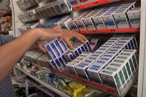 Figures suggest the number of smokers giving up the habit has increased. File photo / NZ Herald