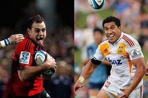 Israel Dagg and Mils Muliaina are in a battle for the All Blacks' number 15 jersey. Photo / Getty Images