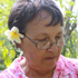 Noga Bray shows off her vanilla plants on Niue. Photo / Jim Eagles