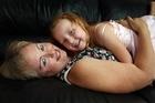 Hanya and mother Vanessa Hennessey. Photo / APN