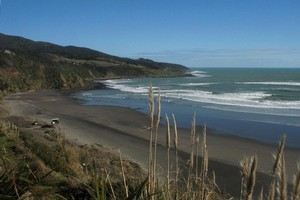 The main surf beach at Raglan. Photo / Supplied