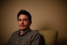 Actor James Franco will host the 2011 Oscars with Anne Hathaway. Photo / AP
