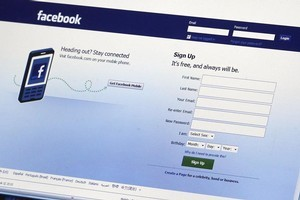 Over half of Kiwis are now on Facebook, a Herald-DigiPoll survey shows. Photo / Hawkes Bay Today