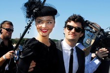 Model Miranda Kerr and her husband, actor Orlando Bloom, have reportedly had a baby boy. Photo / Getty Images