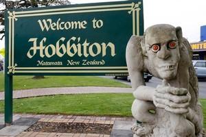 Hobbiton, aka Matamata. Photo / NZ Herald
