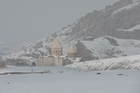 The Black Church in north-west Iran is all but cut-off from the outside world during winter. Photo / Jill Worrall