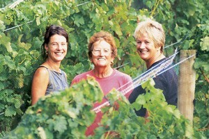 (From left) Tracy Haslam, Eileen Romain and Jan Haslam from Ti Point, Matakana. Photo / Supplied