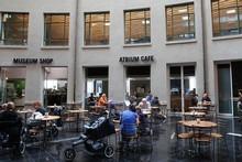 Columbus Cafe at the Auckland War Memorial Museum. Photo / Sarah Ivey