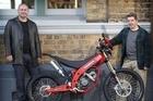 Mike Hodgkinson with Francesco Santillo. Photo / Greg Bowker