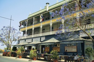 The historic Regatta Hotel was damaged, but is still open. Photo / Supplied