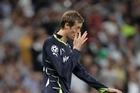 Tottenham Hotspur's Peter Crouch. Photo / AP