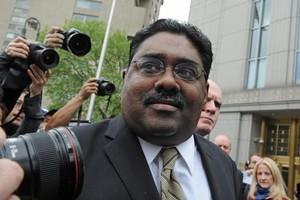 Raj Rajaratnam was found guilty of insider trading. Photo / AP