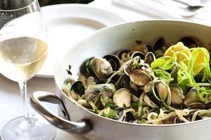 SPQR's cockle linguine dish is full of flavour. Photo / Babiche Martens