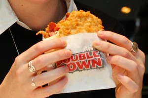 KFC's latest creation caused a stir. Photo / Natalie Slade