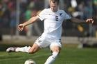 All Whites striker Shane Smeltz in action against Chile. File photo / Brett Phibbs