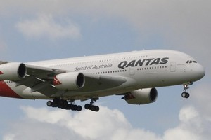 Qantas has agreed to co-operate with the Commerce Commission in its ongoing prosecution of other airlines, including Air New Zealand. Photo / Paul Estcourt
