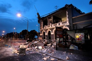 Upgrading a building to earthquake standards can be cheaper than imagined, say some experts. Photo / Doug Herring