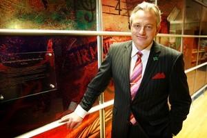 Alan Freeth, CEO of Telstra Clear. Photo / Greg Bowker