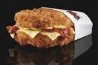 KFC Double Down. Photo / Supplied