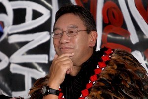 Hone Harawira. Photo / Chris Loufte