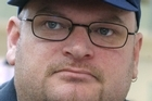 Former National Front leader Kyle Chapman is head of the Right Wing Resistance group. Photo / APN