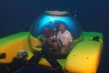 The Triton 36,000 is a full ocean depth submersible that aims to visit the 100,000 metre depths of the Mariana Trench. Photo / Supplied 