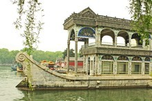 The unsinkable marble boat at the Summer Palace. Photo / Jim Eagles
