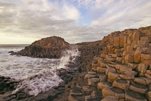 The Giant's Causeway in County Antrim - the result of an ancient volcanic eruption - sets a magical tone for its wild and wind-lashed coast. Photo / britainonview/Martin Brent 