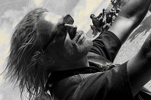 Charlie Hunnam's character Jax Teller in 'Sons of Anarchy' is likeable, but perfectly happy to kill or maim those in his way. Photo / Supplied
