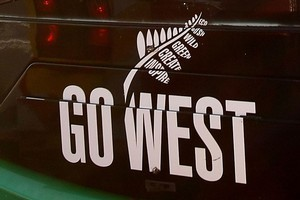 Go West and Waka Pacific buses will start using Hop cards from May 22. Photo / Greg Bowker