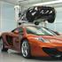 A few toys at McLaren's Tech Centre.
