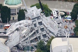 Reinsurers probably hadn't banked on the extent of the damage from the Christchurch earthquake. Photo / NZ Herald