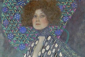 Portrait of Emilie Floge by Gustav Klimt. Photo / Supplied