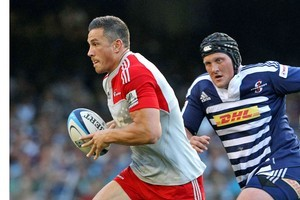 Sonny Bill Williams in action against the Stormers. Photo / Getty Images