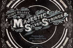 Album cover for Buddy Miller's Majestic Silver Strings. Photo / Supplied