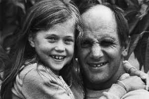 Greer Robson and Bruno Lawrence developed a close bond during the filming. Photo / Supplied